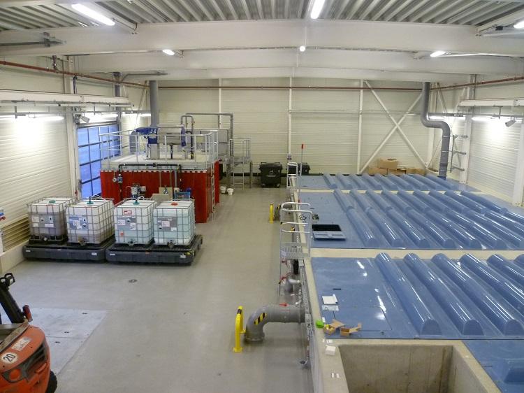 Abwasserrecycling Robert Bosch GmbH