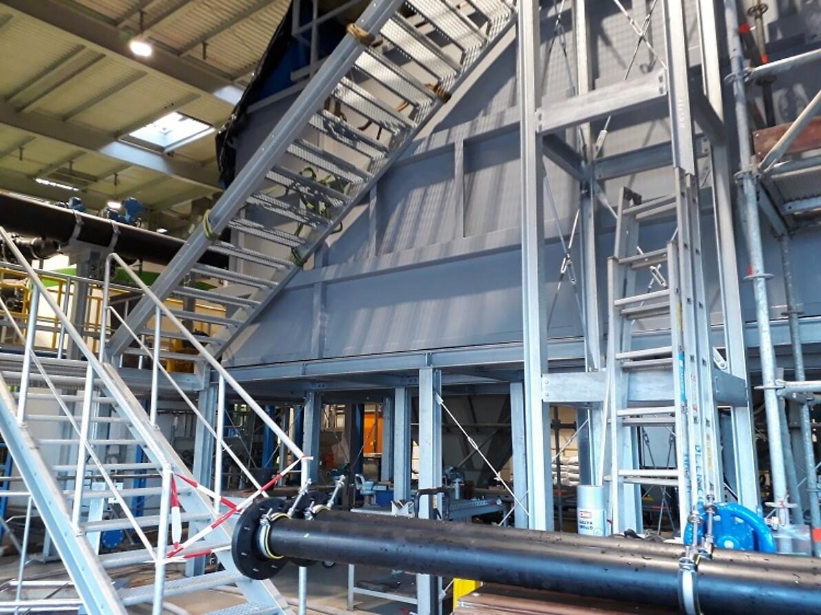Rohwassererzeugung für GUD Kraftwerk