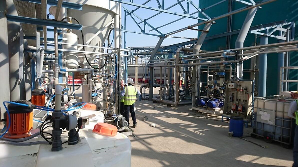 Betriebswasseraufbereitung GRASIM Indien