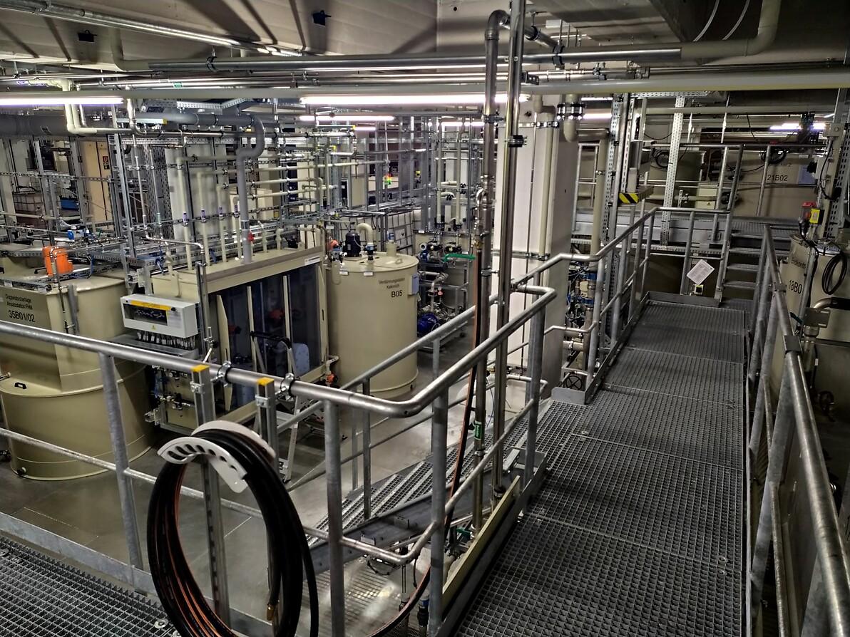 Abwasserbehandlung und VE-Wassererzeugung VW Kassel